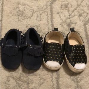 Bundle of Baby Girl Crib Shoes